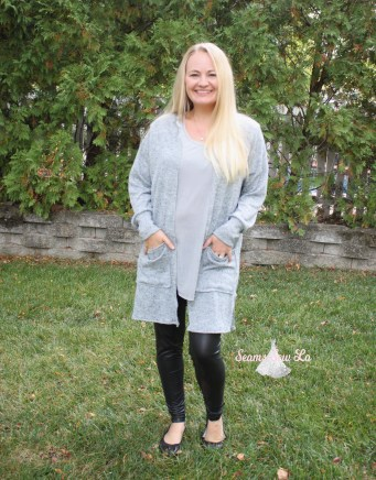 Women's Cardigan Sewing Pattern