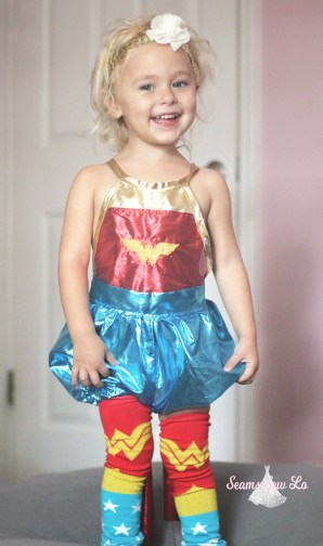 wonder woman sewing pattern for girls