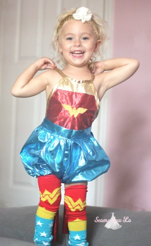 wonder woman sewing pattern for toddlers