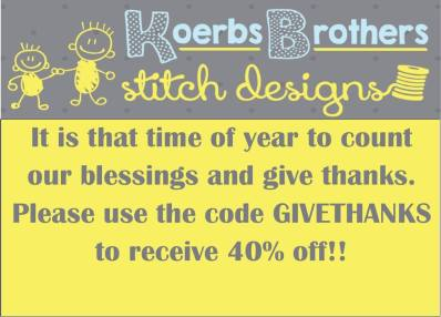 koerbs brothers black friday sale