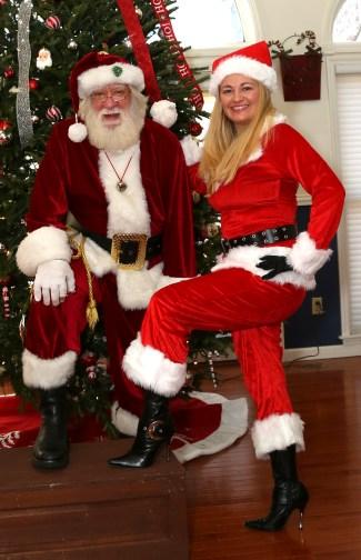 Women's Santa Suit