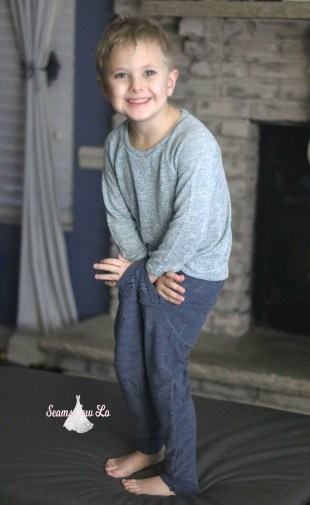 boys stylish pants sewing pattern grey fly pants ellie and mac gray