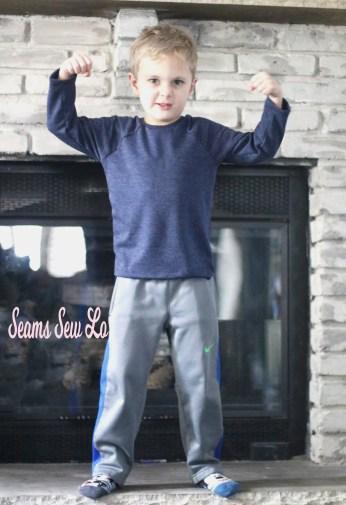boys french terry raglan sewing pattern