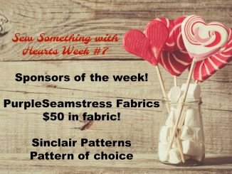 52 Week Sewing Challenge Sew Something with Hearts