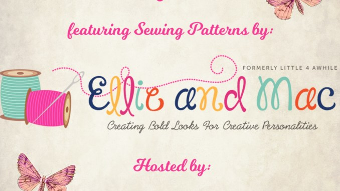 ellie and mac spring sewing patterns blog tour hosted by Seams Sew Lo