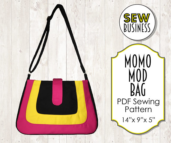 momo mod bag sewing pattern release and sale by Sew Business Patterns