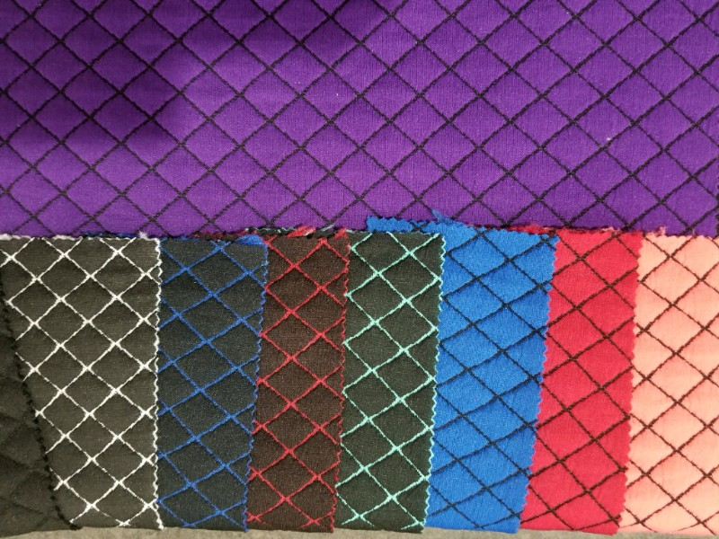 quilted knit fabric preorder at simply by ti