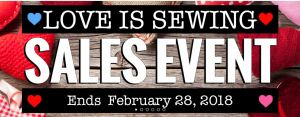 sewing machines plus valentines day sale coupon code