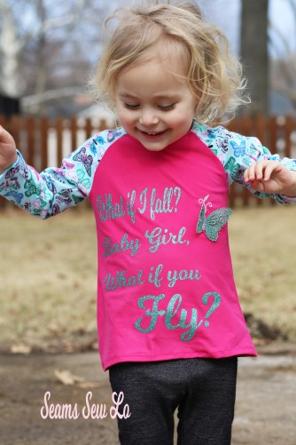 what if i fall what if you fly free svg file butterfly fabric
