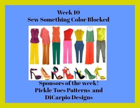 52 Week Sewing Challenge Sew Something Color Blocked