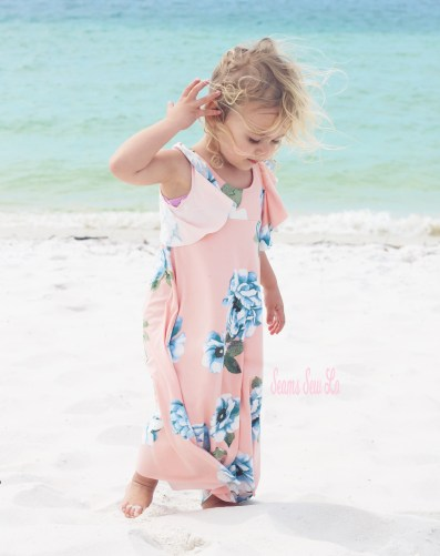 Be Dreamy Dress sewing pattern for girls.