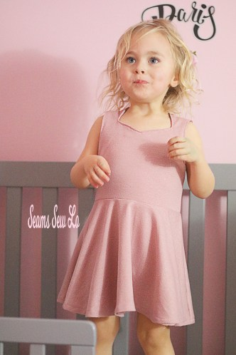 The Spirited Dress Sewing Pattern for girls