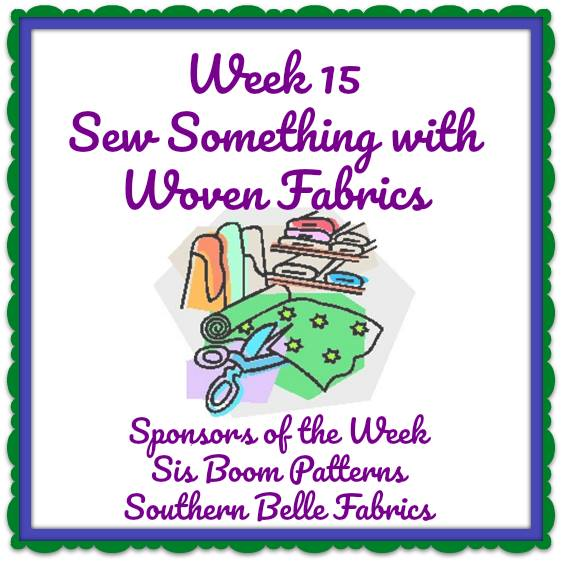 52 Week Sewing Challenge Sew Something with Wovens.
