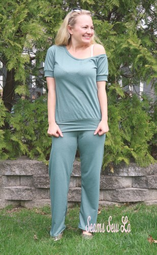 Pippa Yoga Pants Sewing Pattern by Rebecca Page