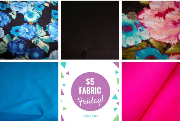$5 Fabric Friday By Simply By Ti