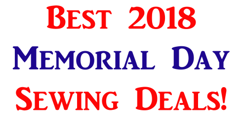 Best Memorial Day Sewing Pattern and Fabric Sales