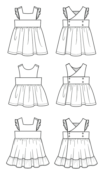 Duchess and Hare U Turn Dress Sewing Pattern Release