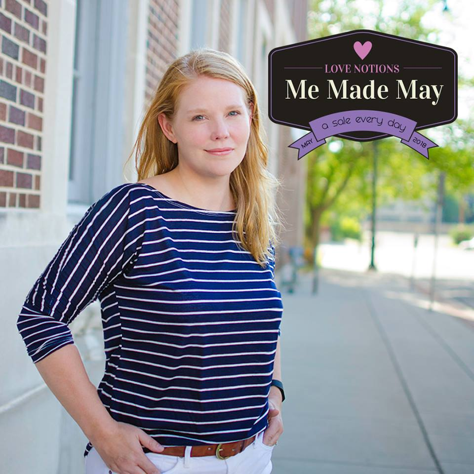 Me Made May Daily Sale at Love Notions Sewing Patterns La Bella Donna Ladies Top Sewing Pattern