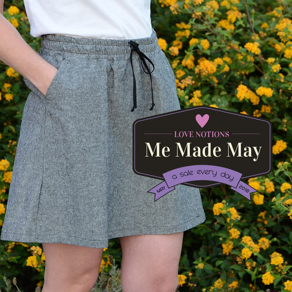 Me Made May Sale at Love Notions Sewing Patterns Allegro Pattern