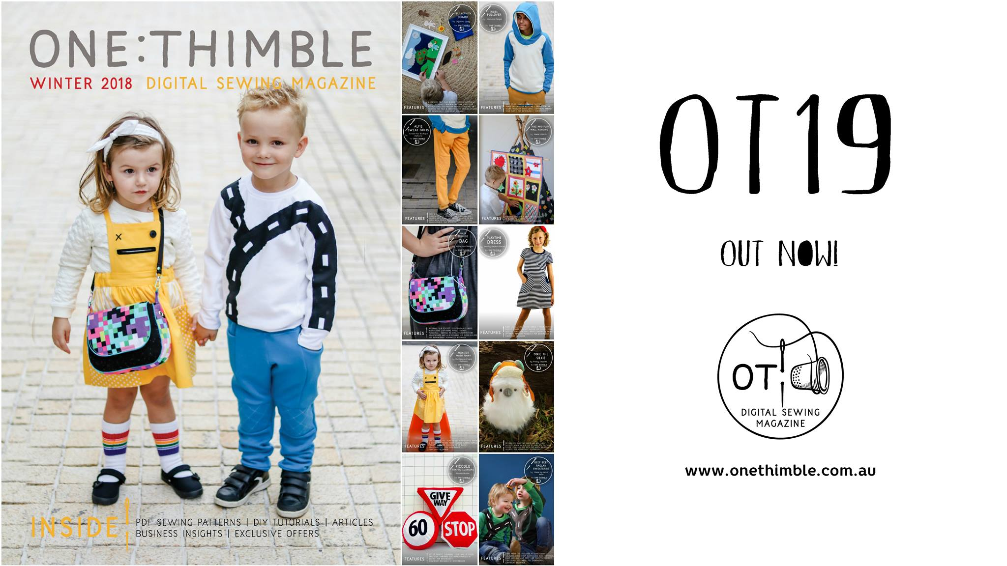One Thimble Sewing Magazine Issue 19 Early Bird Special!