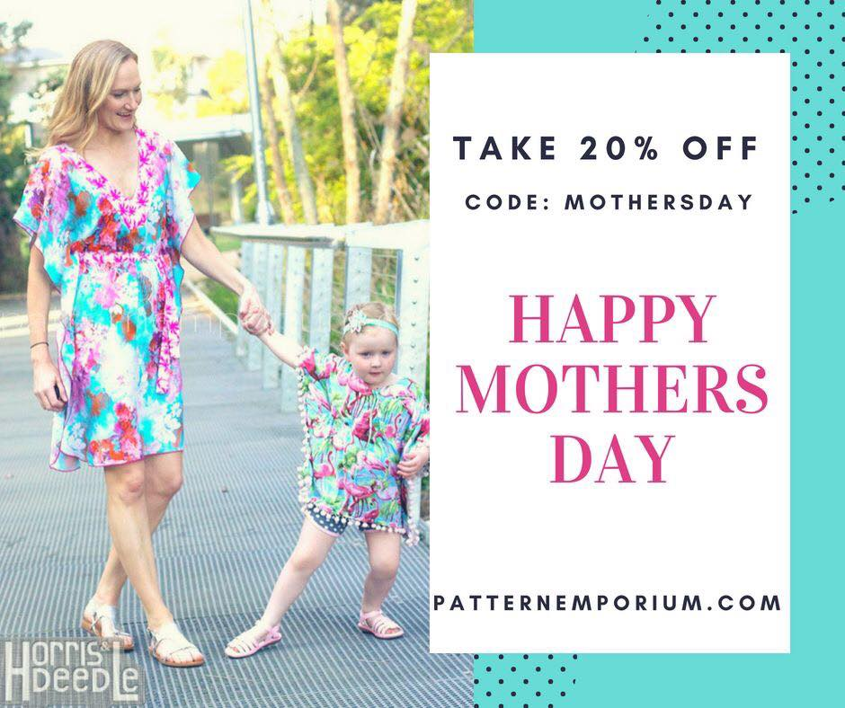 Pattern Emporium Sewing Patterns Mother's Day Sale