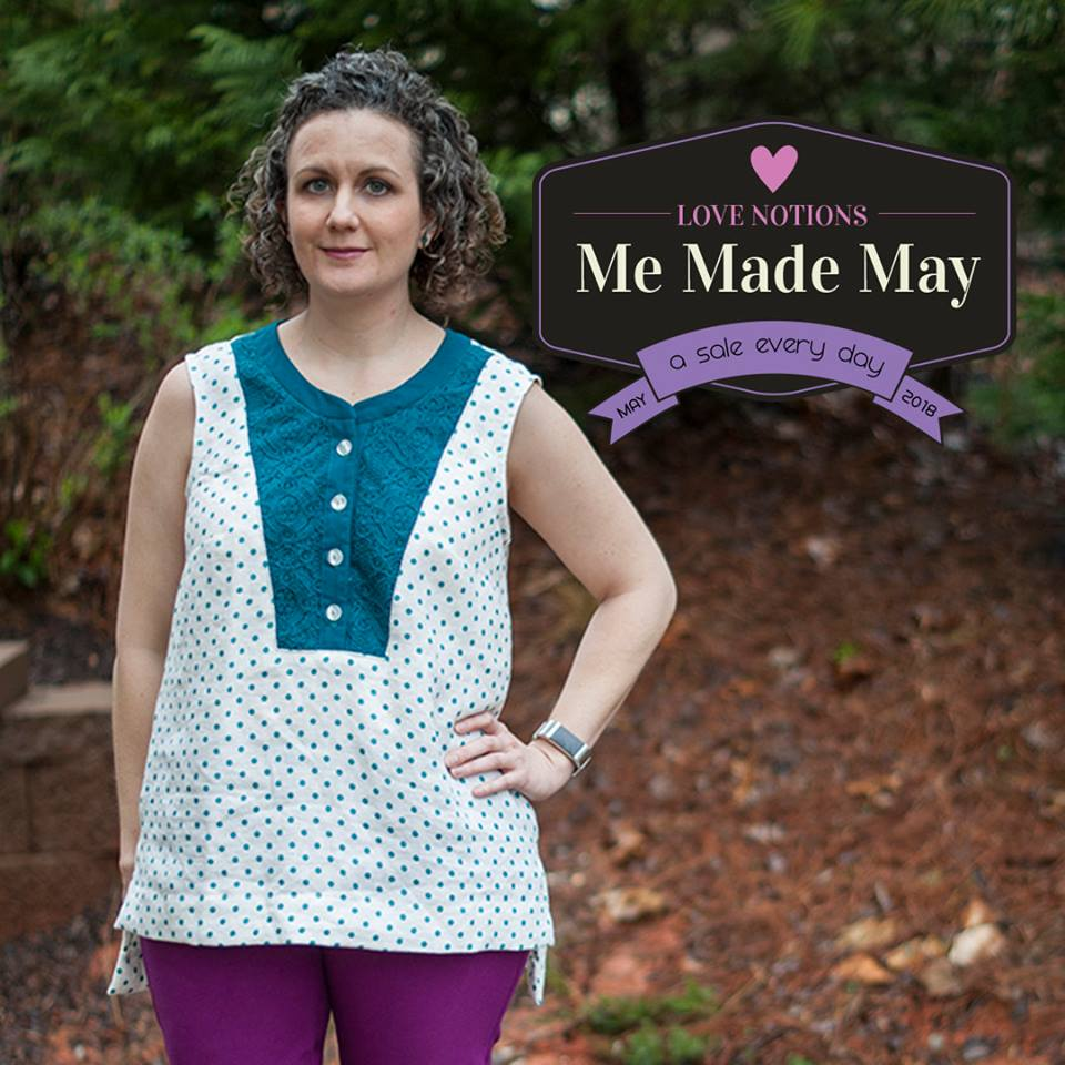 Presto Tunic Sewing Pattern One Day Sale at Love Notions for Me Made May