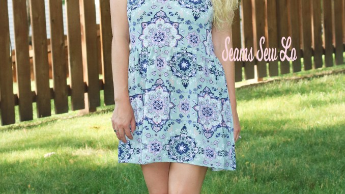 The Sincerely Rylee Maxi Dress Sewing Pattern by George + Ginger