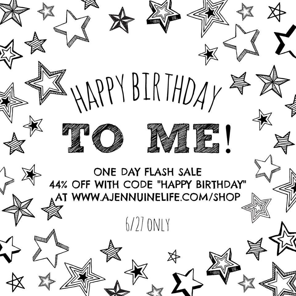 Jennuine Design Sewing Patterns Birthday Flash Sale!