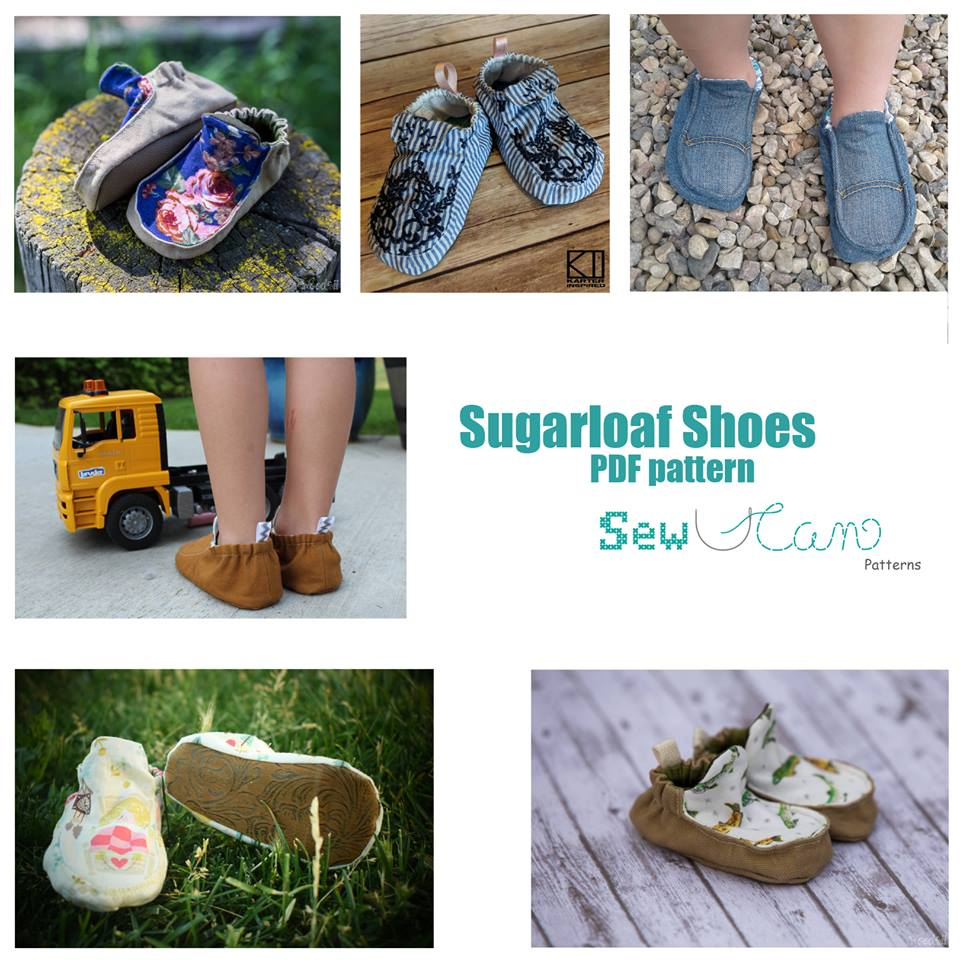 Sugarloaf Shoe Sewing Pattern Release and Sale by Sew U Can Patterns