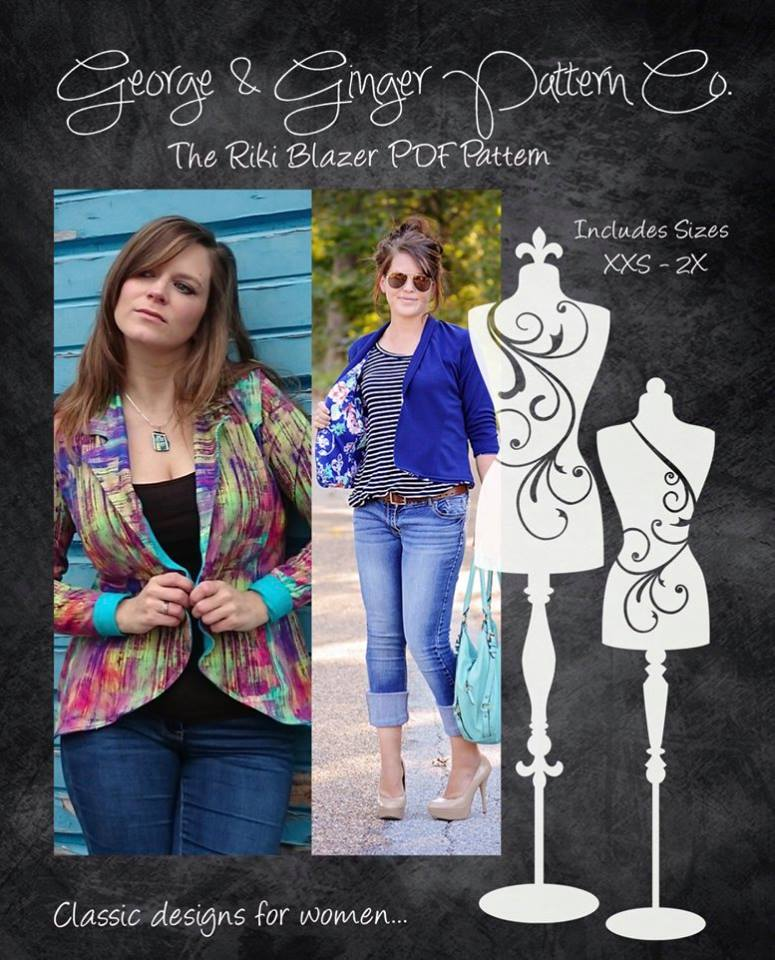 George + Ginger Sewing Patterns Thowback Sale