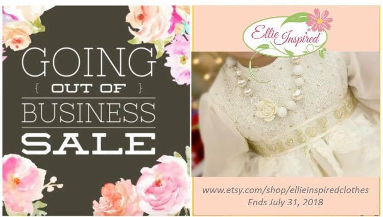 Going Out of Business Sewing Pattern Sale