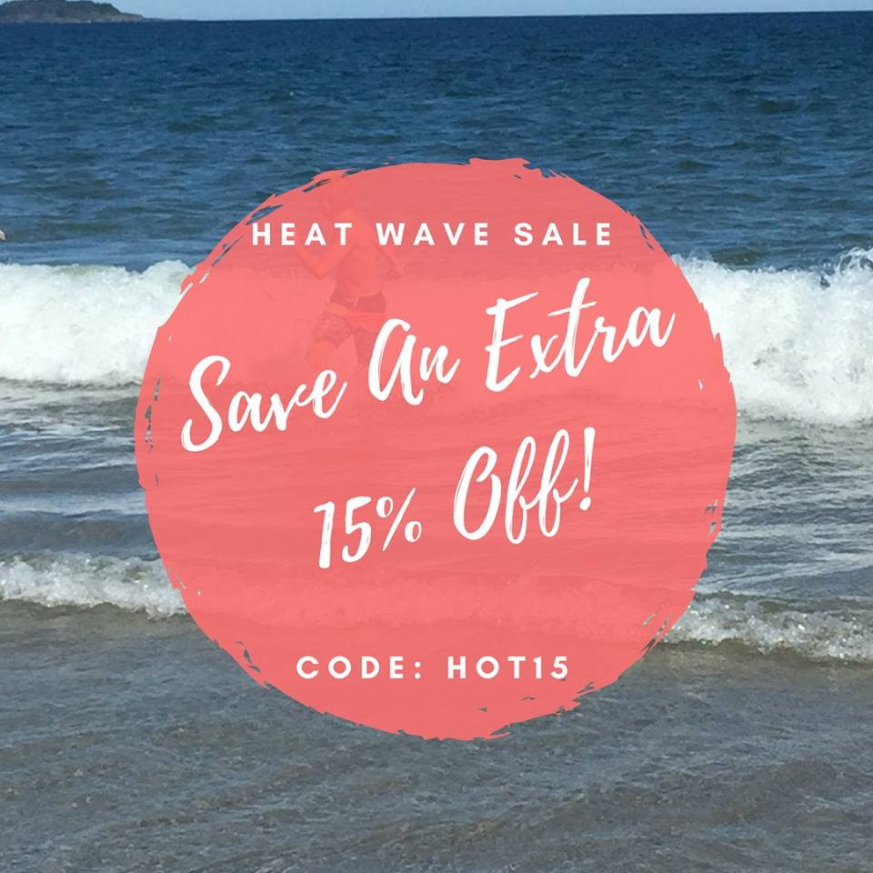 Heat Wave Sale! Save an Extra 15% off All Sewing Patterns at Ellie and Mac