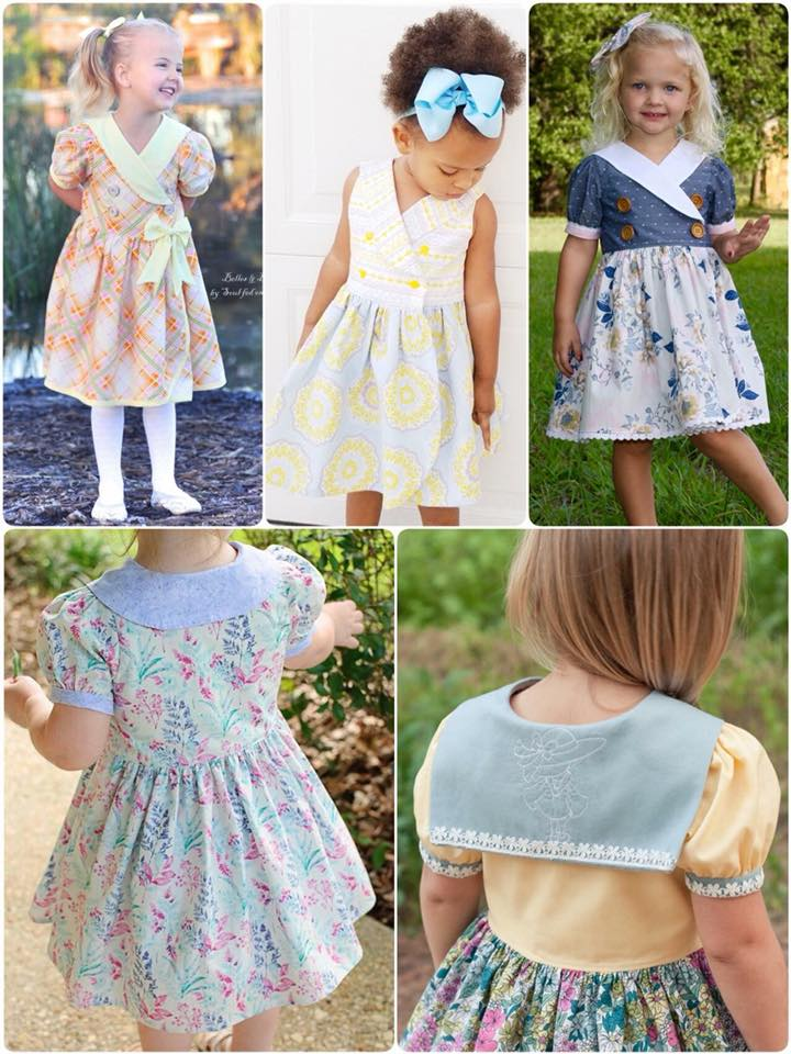 Marina Sailor Dress Sewing Pattern for Girls Release and Sale