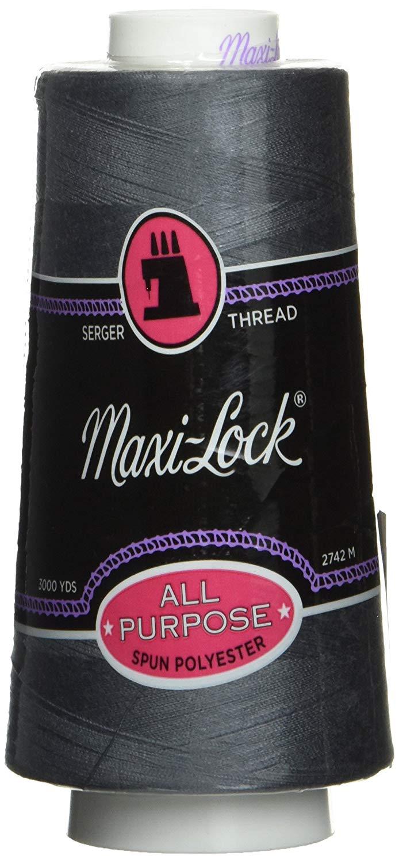 Maxi Lock Dark Grey Thread Sale