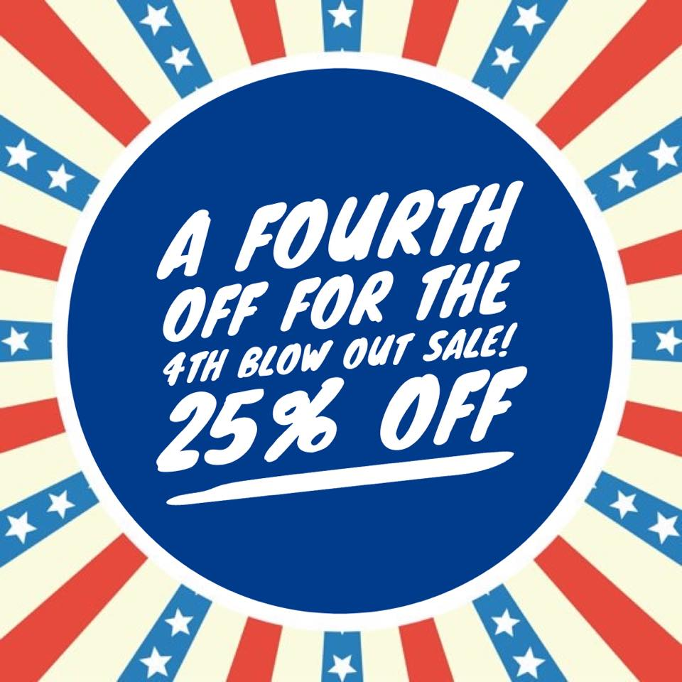 Sincerely Rylee 4th of July Fabric Sale