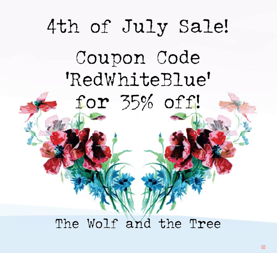 The Wolf and Tree 4th of July Sewing Pattern Sale