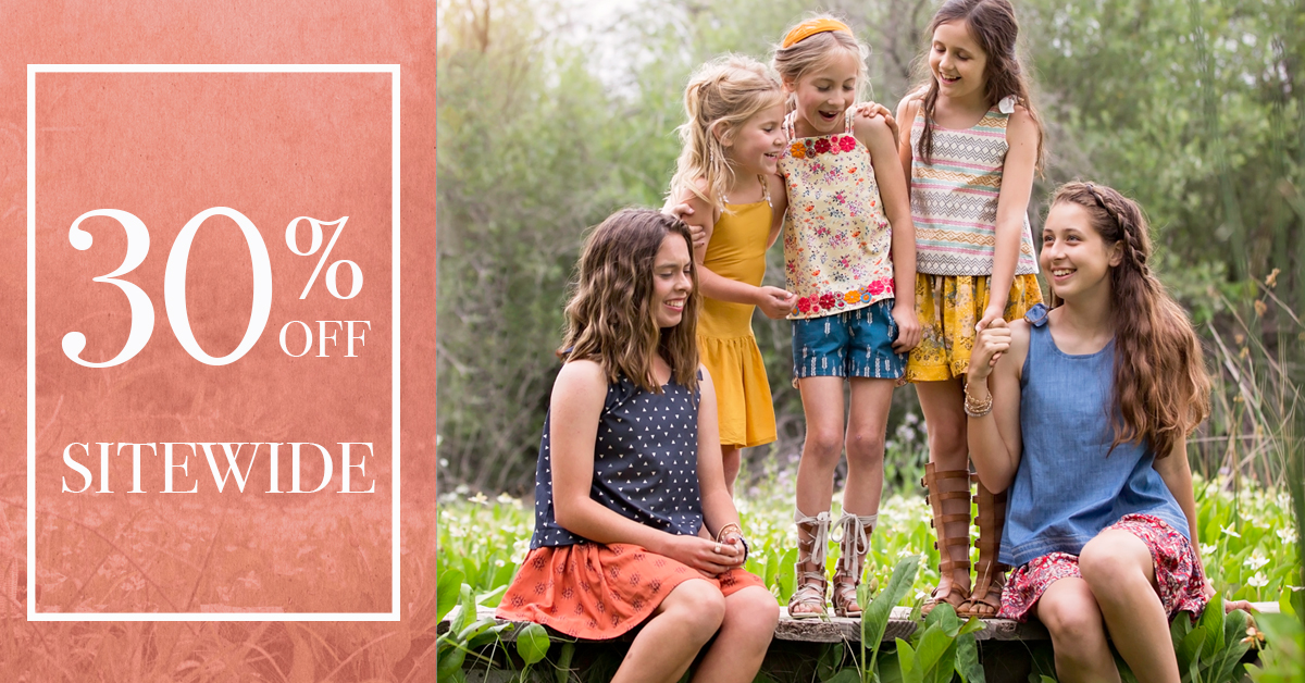Violette Fields Threads Summer Sewing Pattern Sale