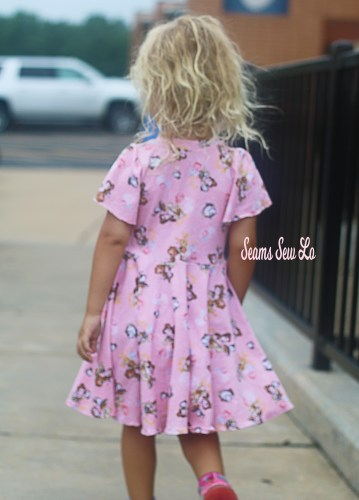 Back to School Dress Sewing Pattern School is Cool by Ellie and Mac Back