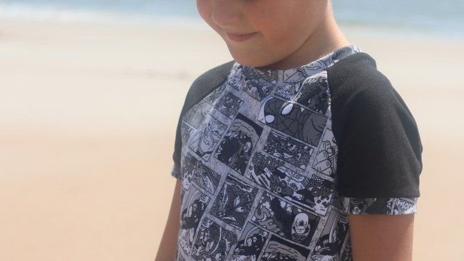 Boys Ringer Raglan Sewing Pattern