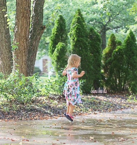 Jumping in Water Puddles