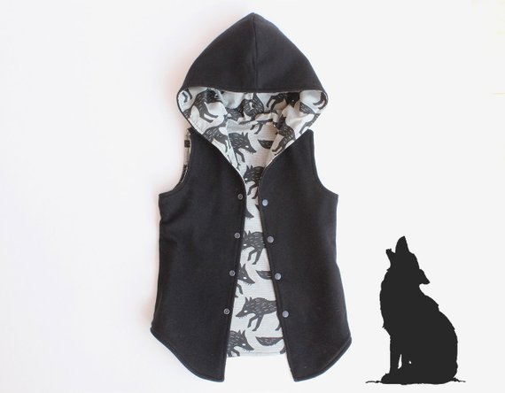 Big Bad Wolf Vest Sewing Pattern Sale