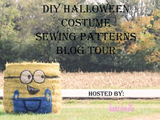 DIY Halloween Costume Sewing Pattern Blog Tour