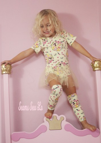 DIY Princess Ballerina Leotard Sewing Pattern