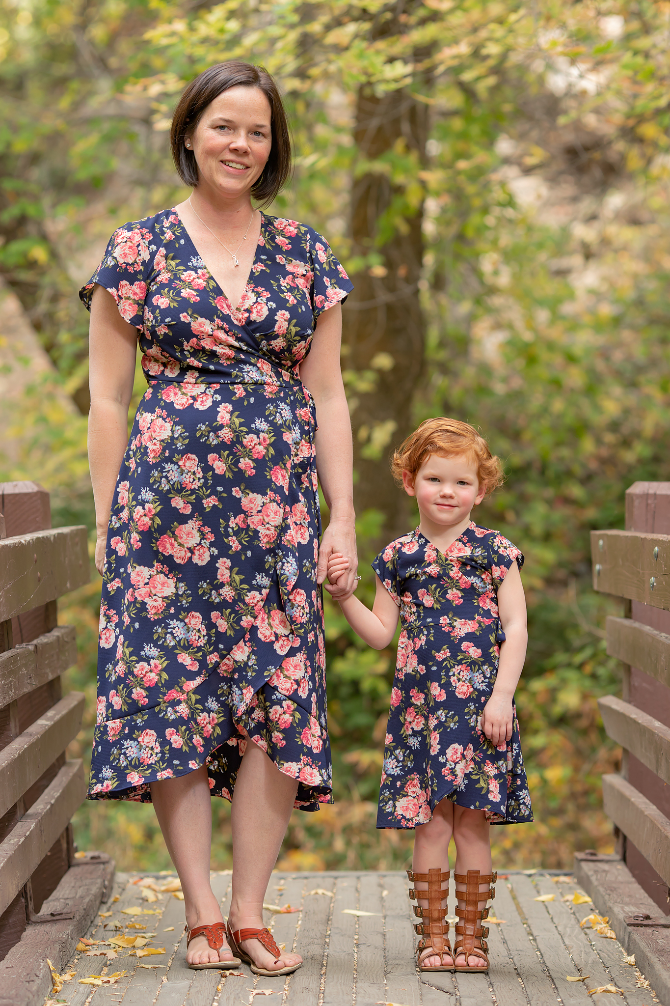 Mommy and Me Boardwalk Dress Sewing Pattern Release and Sale
