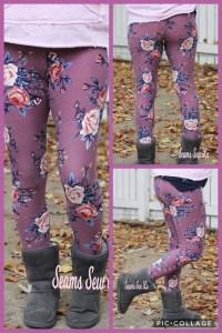 $1 Women's Leggings Sewing Pattern