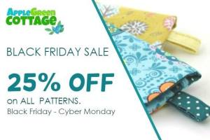 Apple Green Cottage Sewing Patterns Black Friday Sale