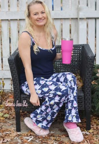 Comfy Clothes Blog Tour - DIY Pjs for Women