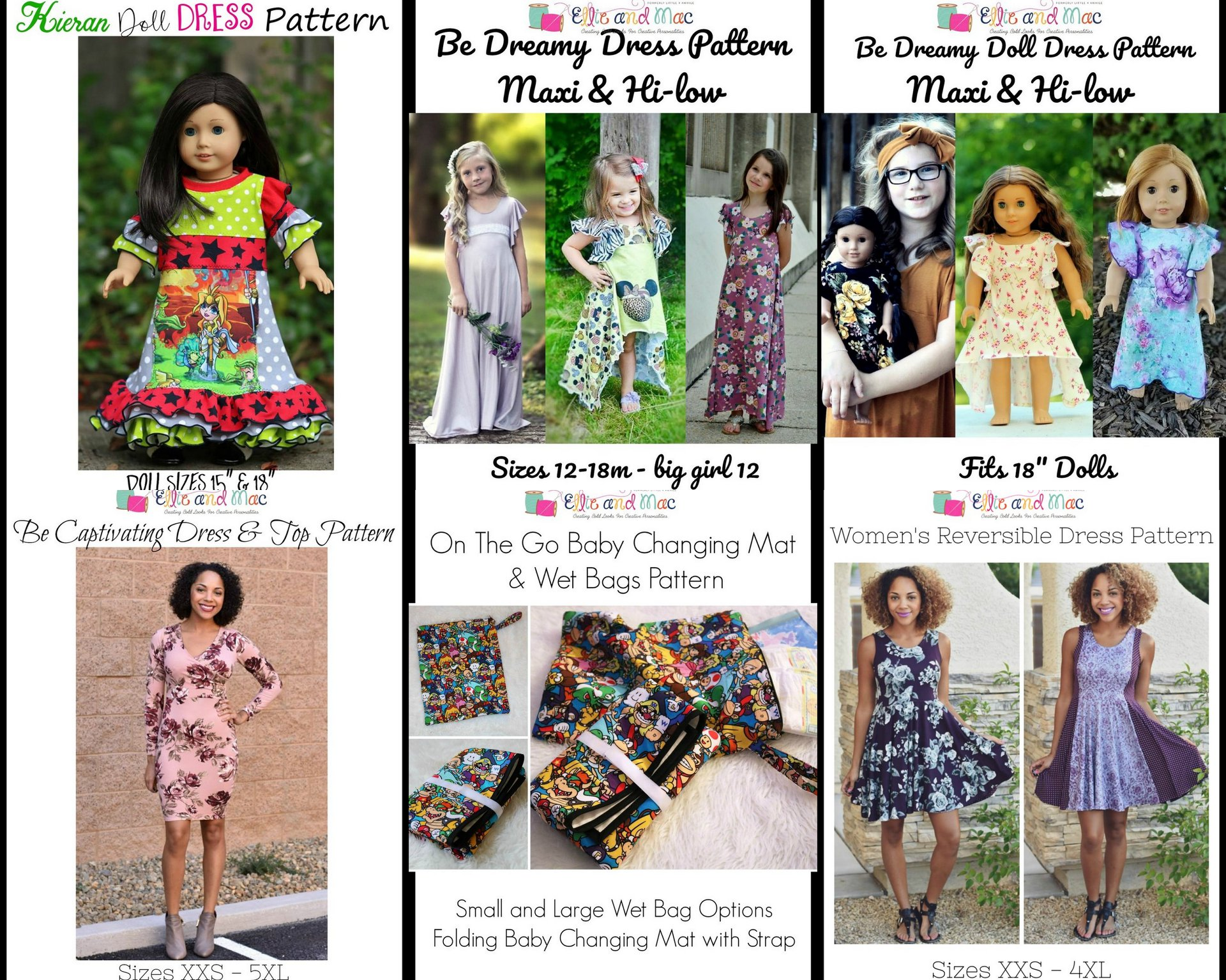 Ellie and Mac Wacky Wednesday $1 Sewing Patterns 11_21