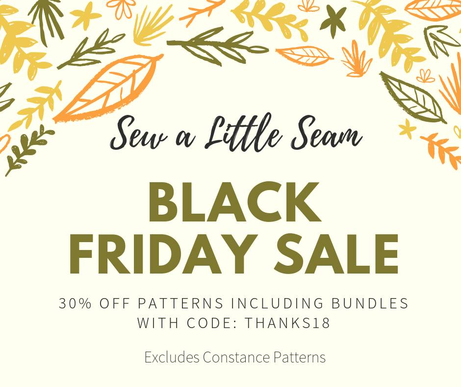 Sew A Little Seam Sewing Patterns Black Friday Sale Seams Sew Lo Enchanting Sew Patterns