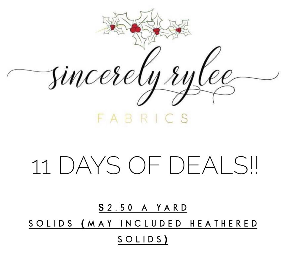 Sincerely Rylee Black Friday Sale